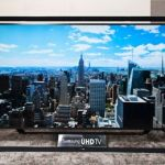 "Samsung has world's largest 110"" UHD TV in tow"