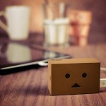 Danbo Robot Head Portable Charger will bring unyielding power to your phone