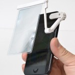 The Raku Raku Magnifier For iPhone aides troubled eyes