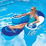 Drink Cooling Pool Lounger lets you laze around in style