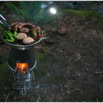 BioLite Base Camp – Turns Wood into Electricity!