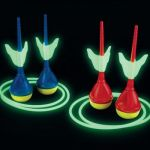 Glow in the Dark Lawn Darts lets you have fun long after the sun sets