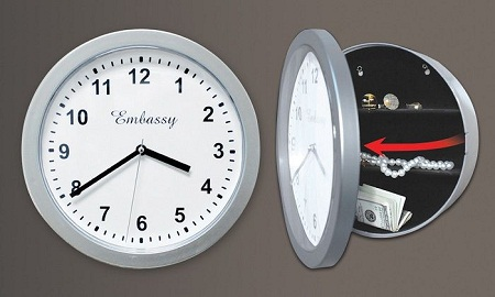 silver-wall-clock-with-hidden-safe