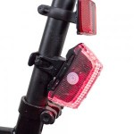 Satechi RideMate Headlight and Taillight helps you ride safer