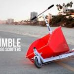 The Nimble Cargo Scooter – Brings it Home!