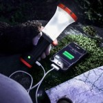 The UCO Arka XP-E CREE will charge your phone and light your path in the wilderness