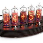 DIY Nixie Tube Clock Kit offers retro time telling capability