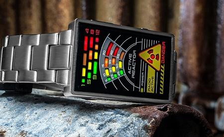Kisai Radioactive LED Watch