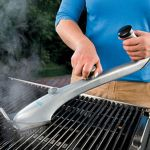 Grill Daddy Pro Steam Brush gets the grill clean in double quick time