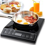 The DUXTOP Portable Induction Cooktop keeps minimalist living easy