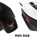 Corsair M65 RGB gaming mouse focuses on color customization