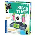 Slime Time lets you construct a clock with a dose of fun
