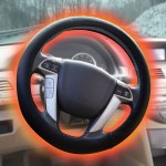 The Heated Steering Wheel Cover makes winter morning drives a little less miserable
