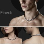 The Fineck is a necklace activity tracker this is all fun and games