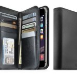 The Jstyle Leather Wallet Phone Case is sleek and professional