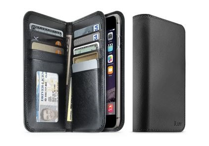 Jstyle Leather Wallet Phone Case