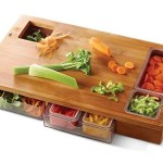 The Sous Chef Prep Station helps you keep food organized