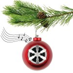 The Bluetooth Ornament Speaker will rock around the Christmas tree