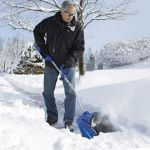 Rechargeable Snow Shovel does the heavy lifting