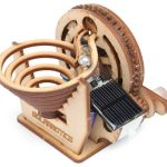 Solarbotics Perpetual Motion Marble Kit looks mesmerizing
