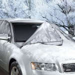 The Quick Removal Windshield Snow Tarp – Get up and go