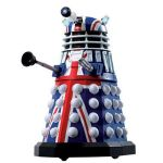 Doctor Who: 50th Anniversary (British Flag) Dalek lets you show off your patriotism