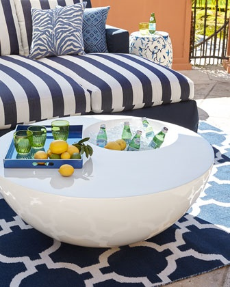 The Outdoor Beverage Table