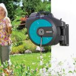 Automatic Retracting Hose Reel does the heavy lifting