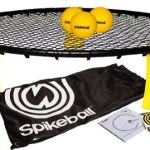 Spikeball is volleyball and foursquare combined into one game