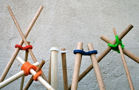These Stick-Lets help to build sturdy stick forts