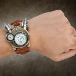 This Tesla Watch is a splendid steampunk accessory