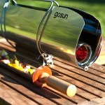 The GoSun Stove is a portable solar grill for sunny day excursions