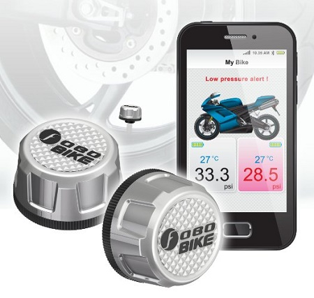 The Fobo Smart Tire Pressure Monitoring System 187 Coolest