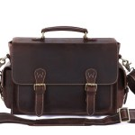 The S-Zone Leather DSLR Camera Bag is for that special hipster in your life