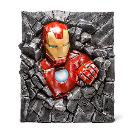 Iron Man Wallbreaker Spices Up Your Living Room Decor