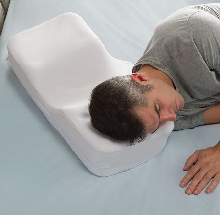 Two Position Sleeper's Pillow