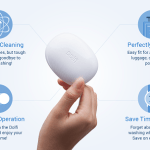 Dolfi helps you clean laundry through the power of ultrasound