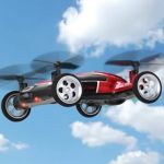 RC Flying Car merges both the old and the new