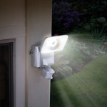 Solar Powered Wide Angle Security Light lets you see more with less