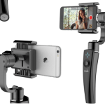 The ProView S3 is a 3-axis gimbal that will let you shoot cinematic-quality video on your phone