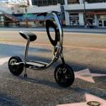 INU folding electric scooter is perfect for urbanites
