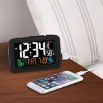 Phone Charging Atomic Alarm Clock gets the time right all the time