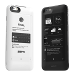 The PopSlate 2 is a phone charging case with a second E-ink display