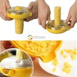 The Pro Tronic Cob Cutter makes corn easier to eat