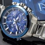 Casio EDIFICE timepiece simply loves the sun