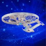 U.S.S. Enterprise Quadcopter goes where no quadcopter has gone before