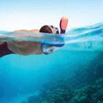 Full Face Easy Breathing Snorkel Mask looks cool and fun