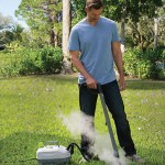 Weed Killing Steamer gets rid of weeds sans poison