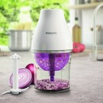 The Philips Multi Chopper Food Processor makes vegetables seem more appealing