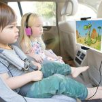 Airvue and Groovies keep kids entertained on long road trips